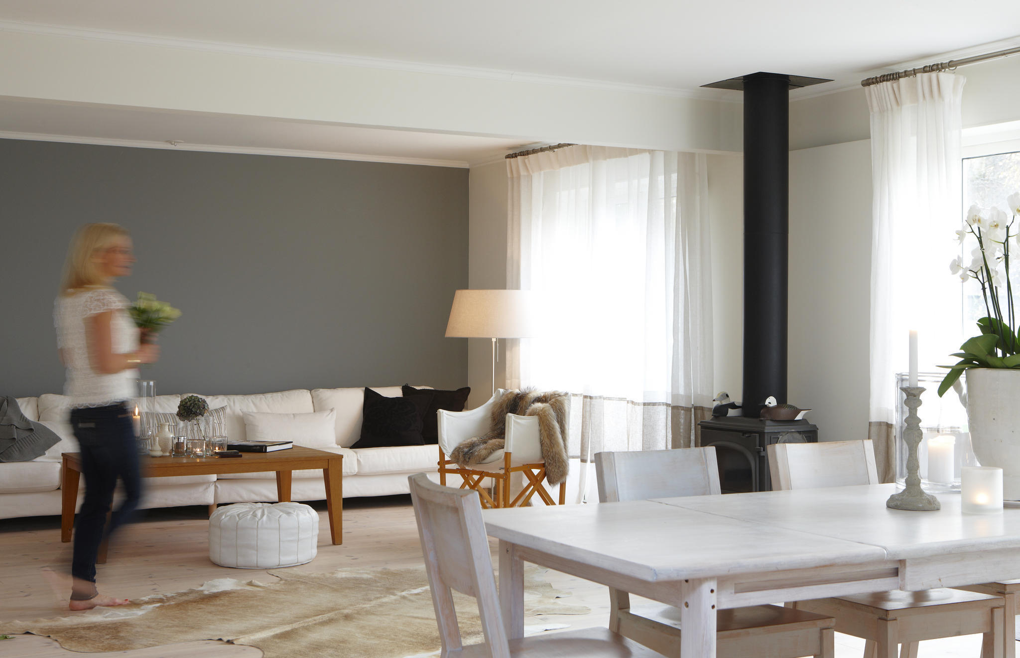 vardagsrum helene falsterbo grå vägg